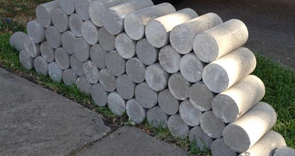 concrete press piers stack