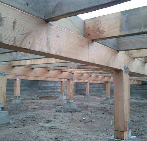 Pier-and-Beam-Pier-Support