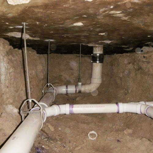 sewer line repair options   DFW Foundation Repair