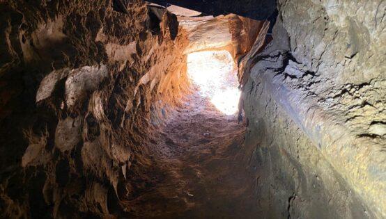 Tunnel under foundation